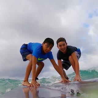 surf skills