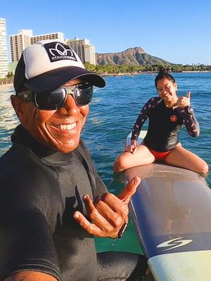 kahu surf school surf instructor paulo hawaii